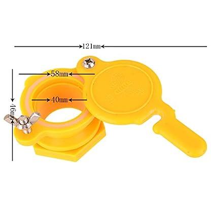 MagiDeal Beekeeping Tool Honey Bottling Hive Gate Valve Extractor Tap Seal 8
