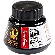 Speedball - Inchiostro di china Super Black, 59 ml