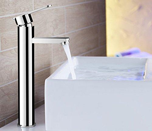 Tout cuivre Lavabo eau Robinet Hot And Cold Lavabo Salle de bains Lavabo robinet d'évier