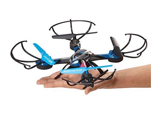 Revell Control RC VR Quadrocopter mit FPV Kamera und VR-Brille, Live-Übertragung über WiFi, Video-Stream aufs eigene Smartphone, ferngesteuert mit 2,4 GHz Fernsteuerung, Wechsel-Akku, VR SHOT 23908 - 4
