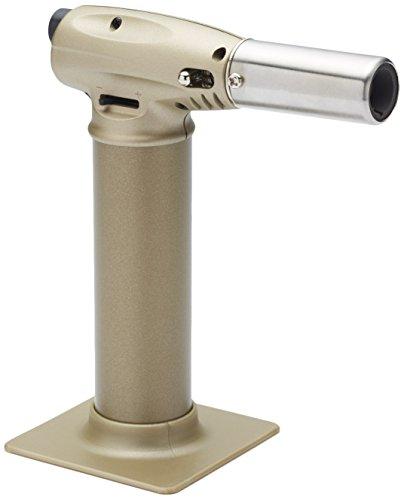 Kitchen Craft Flambierbrenner, Metall, Beige/Silber, 15 x 7 x 12.5 cm -