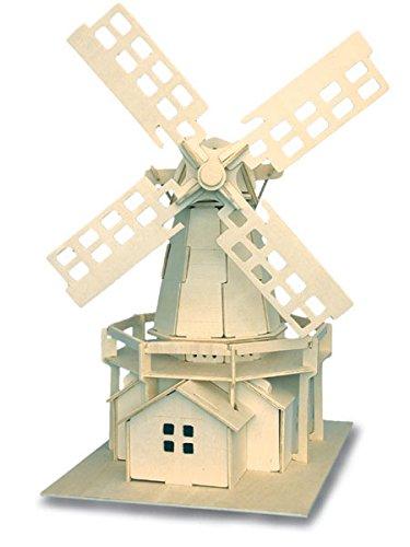 Moulin a vent QUAY Kit de construction en bois FSC