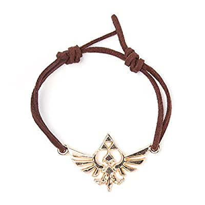 Bioworld - Bracelet Symbole d'Hyrule The Legend of Zelda