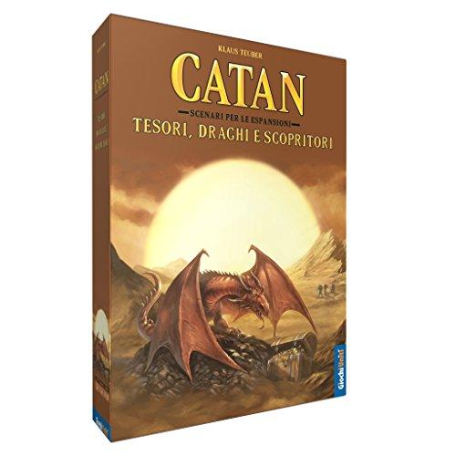 Catan Studios Giochi Uniti gu555–Catan: Schätze, Drachen und Scopritori