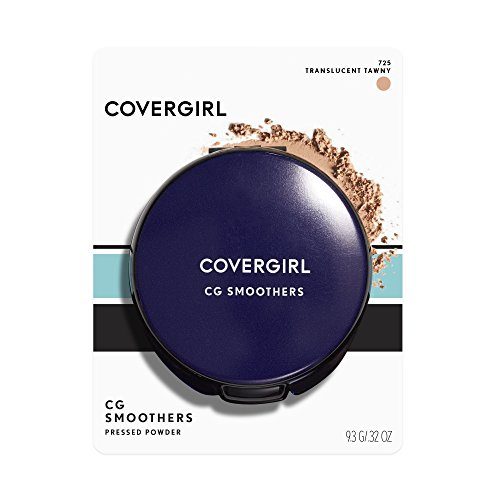 CoverGirl Smoothers Pressed Powder Foundation Translucent, Tawny(N)725, 0.32 Ounce Packages by COVERGIRL (Powder-cover-girl Pressed)