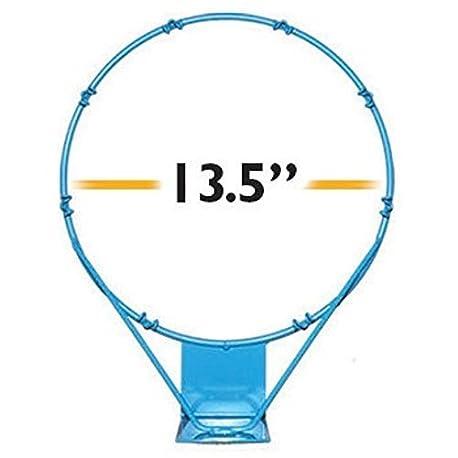 Dunnrite poolsport acero inoxidable 13 5 repuesto baloncesto borde luz azul