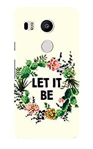 LG Nexus 5X Back Cover by G.Store
