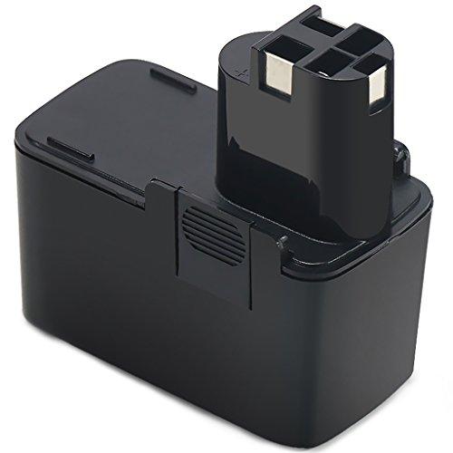 Preisvergleich Produktbild POWERAXIS 12V 3,0Ah NIMH Ersatzakku für Bosch BAT011 2607335039 2607335054 2607335055, Bosch PSR 12 VES-2, PSB 12 VSP-2, PDR 12 V, GSR 12V, GBM 12 VES-3, 3500, 3315K