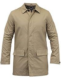 Veste Pour Hommes Brave Soul Manteau Long Mec Trench Coton Chic Décontracté Doublé Hiver