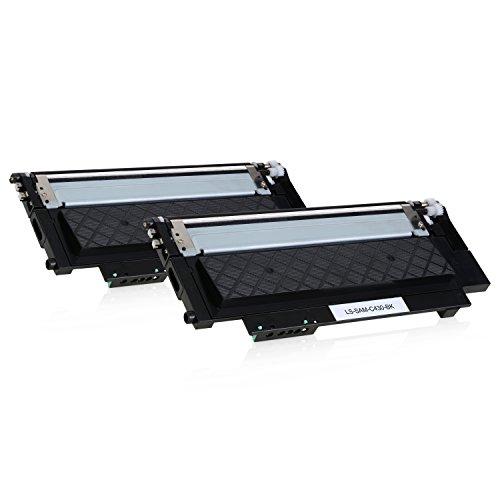 Preisvergleich Produktbild 2 Toner für Samsung Xpress C430W/TEG C480W/TEG Farblaserdrucker - CLT-K404S/ELS - je 1500 Seiten, Schwarz/Black