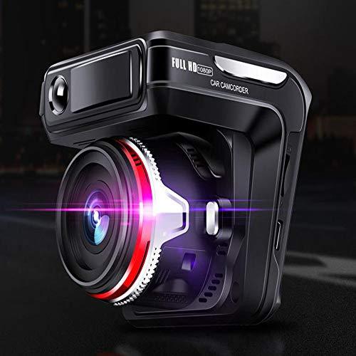 Dashcam Autokamera, Hd-nachtsicht, Doppelaufnahme Vorn Und Hinten, 1080p Hd, 24-stunden-Überwachung, Schleifenaufnahme, Bewegungserkennung, Schwerkraftmessung