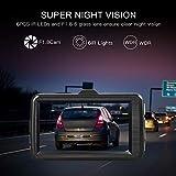 TOGUARD Dash Cam 1080P Full HD Car Camera Dashcam DVR Dashboard Camera with Super Night Vision, 3 Screen 170°Wide Angle, Parking Monitor, G-Sensor, Motion Detection