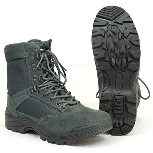 Mil-Tec Tactical Boots m. YKK Zipper urban Grey Gr.10/ EU43