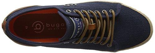 Bugatti 321491026900, Scarpe da Ginnastica Basse Uomo Blu (Dark Blue)