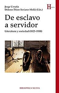 De esclavo a servidor par Jorge Urrutia