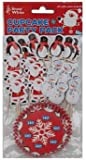 Christmas Characters Cupcake Decorations Kit - Pack of 24
