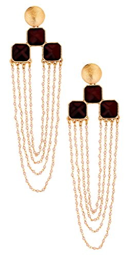 The Jewelbox Long Statement Dangler Earring For Women