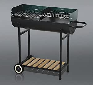 PRO JARDIN - Barbecue demi fut - Barbecue demi fut