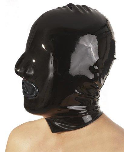 """Latex Maske mit Innen-Kondom (die \""""günstige\"""" Variante)"""