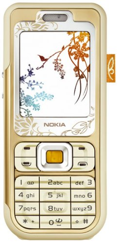 Nokia 7360 warm amber Handy
