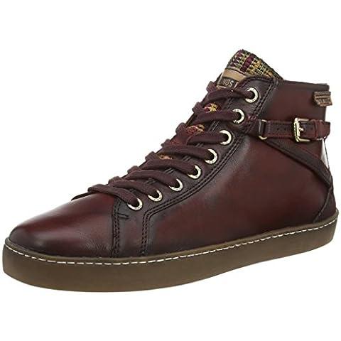 Pikolinos YORKVILLE W0D_I15 - zapatillas deportivas altas de cuero mujer