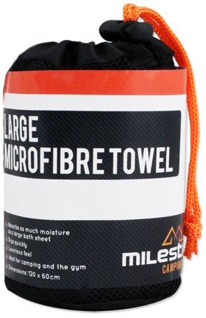 toalla-de-microfibra-milestone-camping-negra-grande