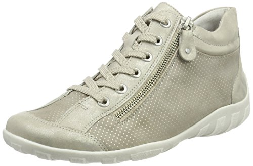 Remonte Damen R3487 High-Top, Beige (Muschel/Steel/Alloy), 39 EU