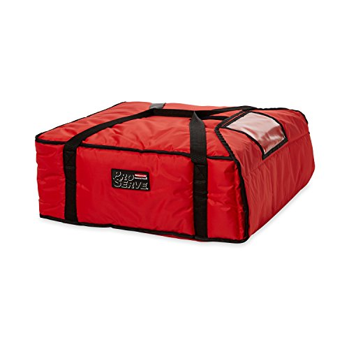 Rubbermaid Professional Large Pizza Delivery Bag - Red