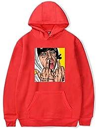 Mchooded Felpe Classiche Unisex Lil Xan Xanarchy Felpa Musica Rap Coat Chic Tuta  per Uomo E Ragazzo T-Shirt… 693e8910080c
