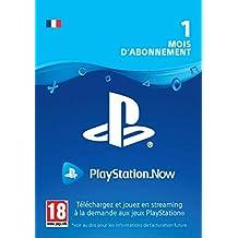 PlayStation Now - abonnement de 1 mois | Code PS4  Jeu à télécharger - Compte français