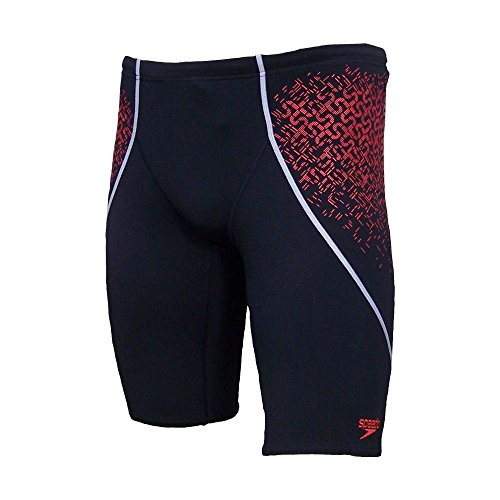 speedo-spdfit-pinnacle-v-jam-am-mens-swimming-trunks-black-black-watermelon-size34