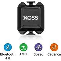 XOSS Cadenza/velocità Sensore per Bike Computer Smartphone Bluetooth/Ant + Dual Mode Bicicletta Bicicletta Wireless (Cadenza/velocità Sensore)