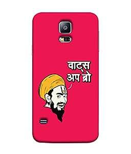 PrintVisa Designer Back Case Cover for Samsung Galaxy S5 Mini :: Samsung Galaxy S5 Mini Duos :: Samsung Galaxy S5 Mini Duos G80 0H/Ds :: Samsung Galaxy S5 Mini G800F G800A G800Hq G800H G800M G800R4 G800Y (Traditional Indian Man with Turban)