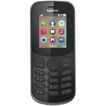 Nokia 130 (Dual SIM, Black)