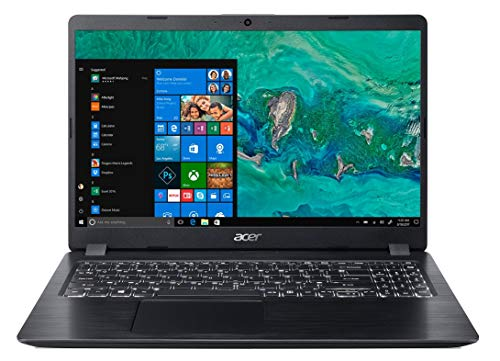 Acer Aspire 5 Slim A515-52K 2019 15.6-inch Thin and Light Notebook (Intel Core i3-7020U processor/4GB/256GB SSD/Windows 10 Home/Integrated Graphics), Obsidian Black