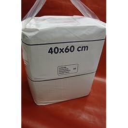 hygienet Coprimaterasso 60x 40cm Standard, Confezione da 60