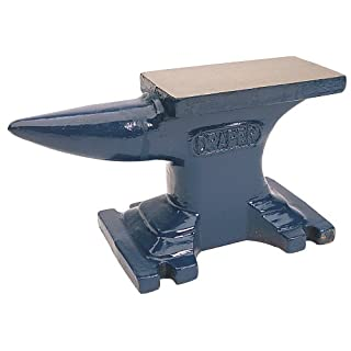 Draper 35481 Single Bick Anvil, Blue, 4.5 kg