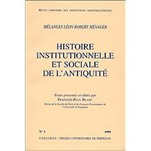 MELANGES L.R. MENAGER