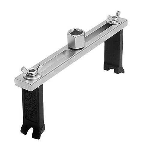 Drehmomentschlüssel Deckel entfernen Set, verstellbare Metall Pumpe Tools Fuel Tank Schlüssel Deckel Entfernung Kit für Auto Werkzeug–21* 2,5cm