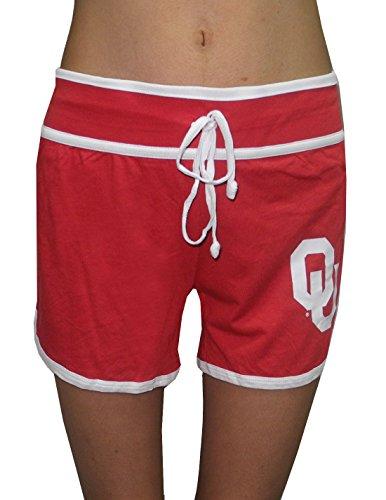 NCAA Oklahoma Sooners Damen Casual Yoga / Shorts rot