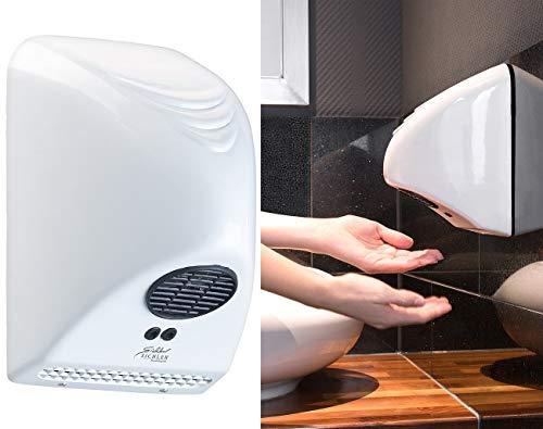 Sichler Haushaltsgeräte Wandhandtrockner: Automatischer elektrischer Händetrockner zur Wandmontage, 850 Watt (Vollautomatischer Händetrockner) - 230v Händetrockner