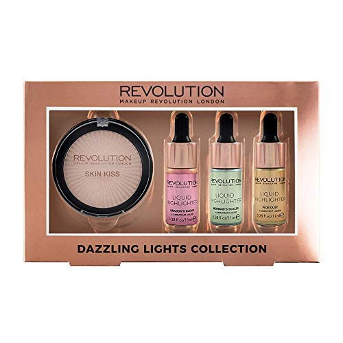 Makeup Revolution - Set Iluminadores Dazzling Lights