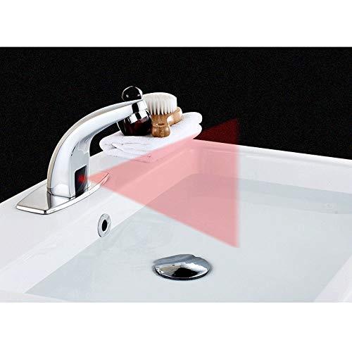 Induktionshahn/Automatischer Intelligenter Infrarothahn/Heißes Und Kaltes Händewaschen Des Haushalts/Hahnkörper + DC-Steuerkasten gute Qualität (In Halloween Dc)