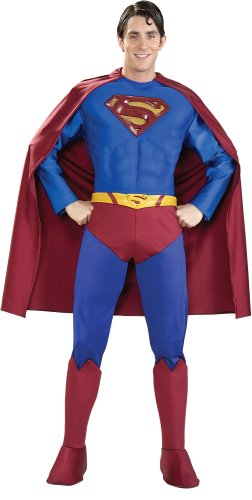 Rubies Costume Co 21113 Supreme Superman Muscle Chest Lycra Erwachsene Gr--e (Lycra Superman Kostüme)