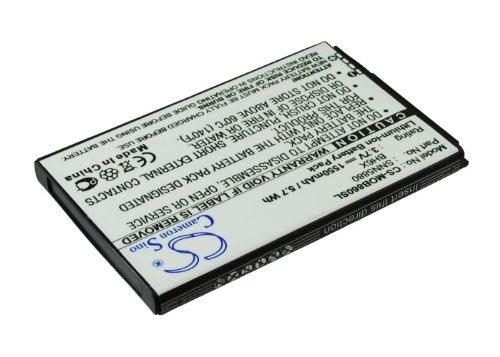 techgicoo 1550mAh Akku kompatibel mit Motorola MB860, Atrix 4G, Olympus,/, ME722, A954, Droid X2, mb870verizon Bionic 4G LTE (Akku Mb860)