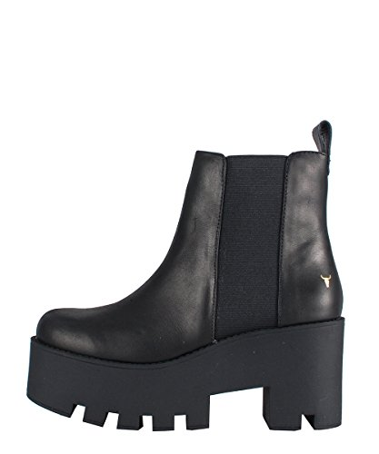Windsor Smith Alien Boots Black - Stivaletti Neri Pelle