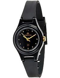 Maxima Aqua Regular Analog Black Dial Women's Watch-01611PPLW