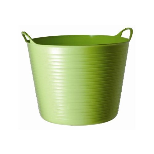 William Hunter Equestrian Tubtrug - Cestello flessibile largo, ideale per mangime e acqua, colori assortiti - verde