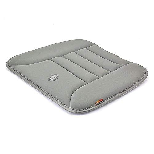 ZZY Auto Sitzkissen Pad Für Autofahrer Sitz Bürostuhl Heimgebrauch Memory Foam Sitzkissen (Farbe : Grau)