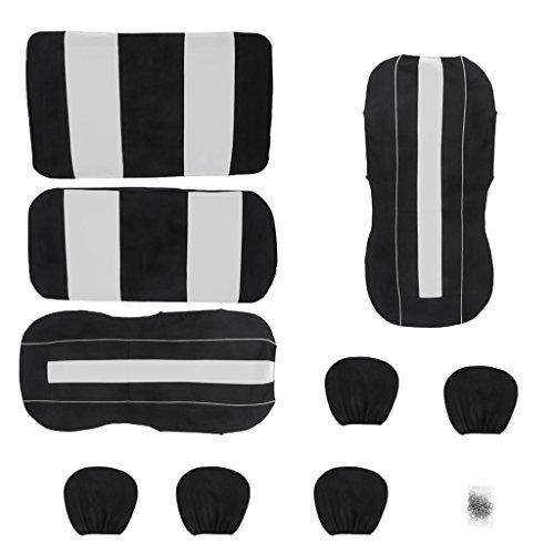B-Blesiya-Auto-Coprisedili-Universale-Airflow-Poggiatesta-Resistente-Confortevole-Poliestere